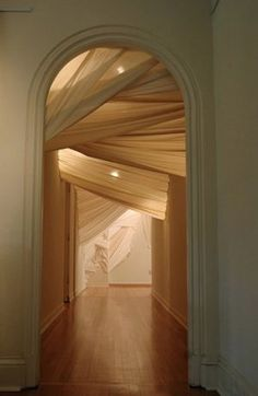 envelop (entrance), by Carlie Trosclair. Muslin x x – light Architecture Design, Light Architecture, Interior Exterior, My Dream Home, Interior Inspiration, Style Inspiration, Future House, Interior Decorating, Sweet Home