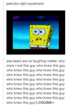 Spongebob was such a good show. What happened to quality television?