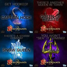 Disney Descendants showed us that being raise by villains (evil parents) can be a struggle. But being around people that aren't evil may them feel welcome and normal. Disney Channel Descendants 2, Disney Descendants 2, Descendants Cast, Rotten To The Core, Decendants, Pixar Movies, Disney Movies, Disney Fanatic, Barbie Birthday