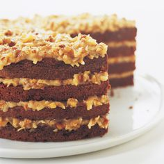 We've refashioned this traditional recipe into foolproof, chocolatey goodness. Introducing: Our German Chocolate Cake with Coconut Pecan Filling.