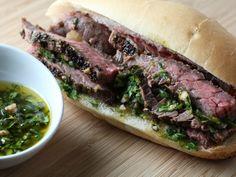 Steak and Chimichurri Sandwiches