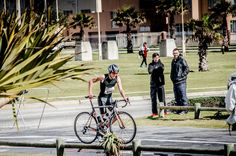 Momentum Health Meg 3 National Duathlon Series 2013 - Race 5, Pollock Beach, Port Elizabeth. Photographer: Nadine Matthew Port Elizabeth, Racing, Beach, Running, The Beach, Auto Racing, Beaches