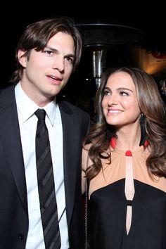 Ashton Kutcher & Natalie Portman