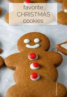 Favorite gingerbread cookies recipes