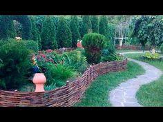 Забор плетеный - YouTube