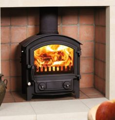 Town and Country Whisperdale  #KernowFires #woodburner #contemporary #traditional #cornwall #freestanding