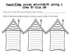 Communities- Rural, Urban, Suburban Flippy Books   Social studies