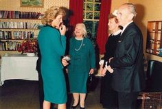 29 September 1987 Princess Diana as Patron visits Durham Aged Concern Day Centre & Durham University higher education projects for the deaf.
