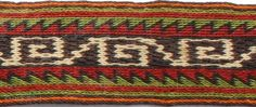 tent ribbon, shahsevan, end of 19 th cent., width 4 inch, length of woven part  226 inch, entire lenght 270 inch,  very nice patterns, colours and button; see more http://www.heinz-hegenbart.de/1/navigation-left/gallery/rare-rugs-and-bags/persia/