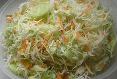 Kapustový šalát Low Carb Recipes, Healthy Recipes, Czech Recipes, Salad Dressing, Eating Well, Cabbage, Salads, Good Food, Food And Drink