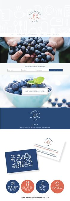 Lindsey Lee Brand and Parallax Website Design / by Heart & Arrow