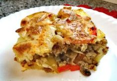 Polish Recipes, Polish Food, Lasagna, Food And Drink, Menu, Vegetarian, Healthy Recipes, Dinner, Baking