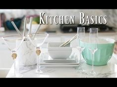 Basic Things Every Kitchen Needs & Doesn't Need!