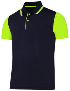 Fluorescent neon green golf ball color fluorescent for Yellow golf polo shirts