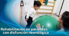 """A través de la terapia de #rehabilitación, buscamos devolver el mayor grado de capacidad funcional e independencia posibles, a pacientes con algún #trastorno #neurológico. #GrupoFI """"Salud integral sólo en nuestras manos""""."""