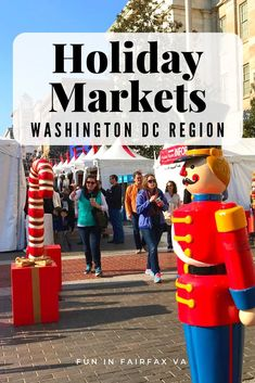 Fun Holiday Markets in Northern Virginia and the DC Region