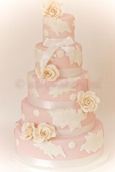 wedding cake By sillybakery