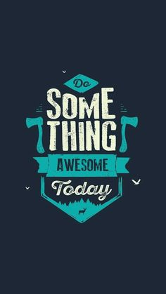 Do something awesome today Cute Calligraphy, How To Write Calligraphy, Bear Wallpaper, Wallpaper Quotes, Study Quotes, Life Quotes, Amoled Wallpapers, Oneplus Wallpapers, Cool Backgrounds For Iphone