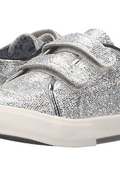 Morgan&Milo Kids Lucy Double V (Toddler/Little Kid) (Silver) Girls Shoes - Morgan&Milo Kids, Lucy Double V (Toddler/Little Kid), MG2005TX-040, Footwear Closed Hook and Loop, Hook and Loop, Closed Footwear, Footwear, Shoes, Gift, - Fashion Ideas To Inspire