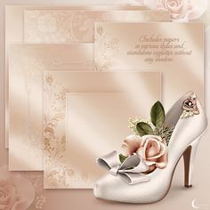 Moonbeam's Wedding Elegance (FS/CU) [Moonbeam's Wedding Elegance] : Scrap and Tubes Store, Digital Scrapbooking Supplies Paper Background, Textured Background, Boarders And Frames, Lovely Girl Image, Wedding Scrapbook, Floral Border, Shoe Art, Paint Shop, Digi Stamps