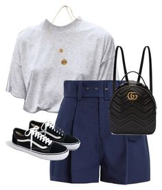 """""""Untitled #13628"""" by alexsrogers ❤ liked on Polyvore featuring Sea, New York, J.Crew, Gucci and Kenneth Cole"""