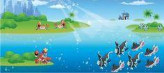 Karen's Pokeranch: Pokemon near the sea