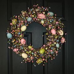 Easter wreath  I'm going to try this..so adorable!