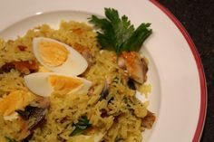 Kedgeree with Kippers