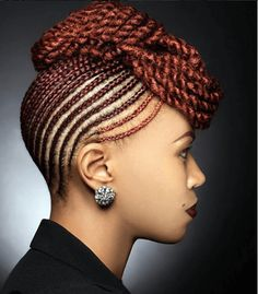 Elegant Braided Beauty Source: boobabe1202 #naturalhairmag #protectivestyles