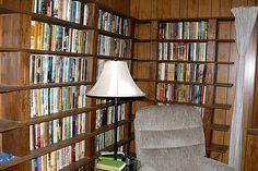 A Bookshelf by .Larry Page, via Flickr
