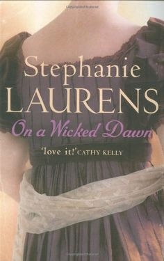 UK cover for On a Wicked Dawn by Stephanie Laurens. 2007
