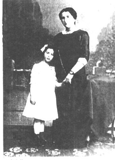 Hannah Arendt and her mother