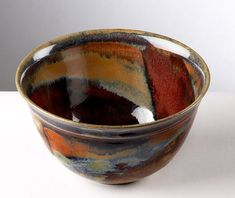Ceramics by Jane Hanson at Studiopottery.co.uk - 2011 Red Bowl
