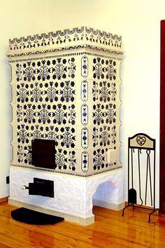 adelaparvu.com despre sobe, semineuri, gratare cu cahle de teracota si cahle pictate, Design AMRITA, Tg Secuiesc, Romania (50) Curtains, Shower, Prints, Interior, Design, Hearths, Home Decor, Mantels, Fireplaces