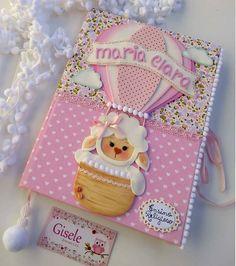 Foam Crafts, Diy And Crafts, Folder Decorado, Scrapbook Cover, Kawaii Doodles, Decorate Notebook, Notebook Design, Notebook Covers, Small Flowers