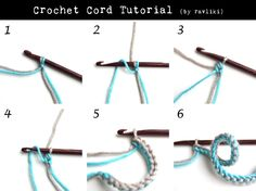 Crochet Cord - Tutorial ❥ 4U // hf