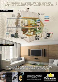 VIDEOWARE - A Tecnologia do conforto. #hometheater #automaçãoresidencial