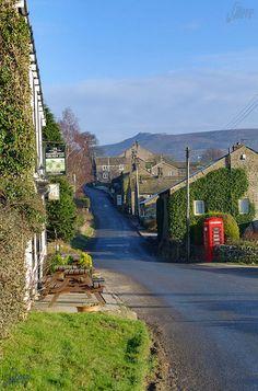 Yorkshire Dales village. The world of James Herriot.