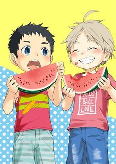 Daichi and Suga