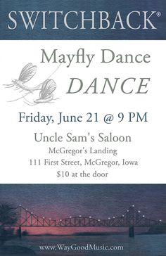 2013 Mayfly Dance - art by Anne de Courtenay.