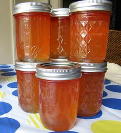 Watermelon Jelly- a great way to use up the mammoth melons growing in Texas right now!