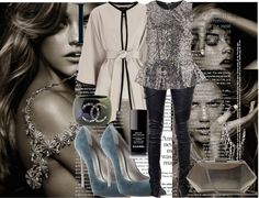 """""""... I'll dress nice, I'll look good, I'll go dancing alone I will laugh, I'll get drunk, I'll take somebody home ..."""" by mmatildax ❤ liked on Polyvore"""
