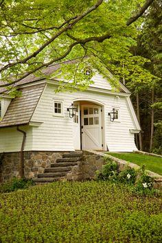 georgianadesign:  New England carriage house. David Scott Parker...