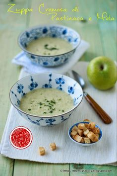 The Miss Tools: Vellutata di #Pastinaca e Mela con Zenzero - #Parsnip and Apple Soup with Ginger