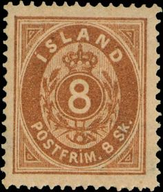 Iceland 1873. 8 Skilling