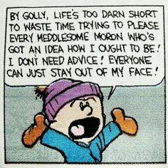 Calvin & Hobbes. Pure magic.