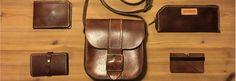 Unikke håndlavede kernelæder tasker og accessories til din hverdag – Nabamu Design