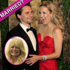 Goldie Hawn Accidentally Revealed Kate Hudson Married Matt Bellamy!