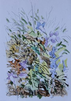 Kistenbosch plein air scribble.