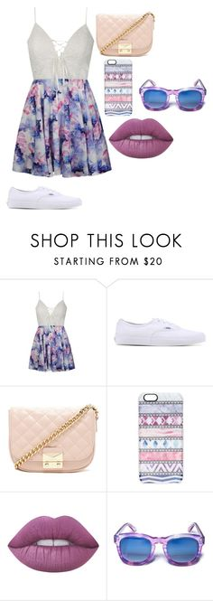 """""""iuy"""" by annie-hall-barton ❤ liked on Polyvore featuring Ally Fashion, Vans, Forever 21, Casetify and Lime Crime"""